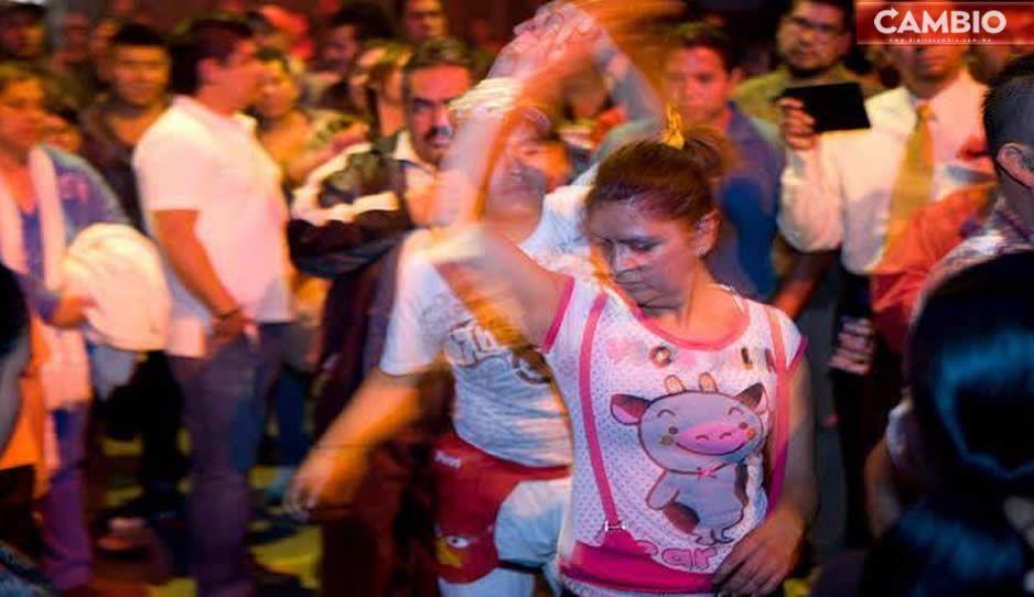 VIDEO: Vecinos de Coronango organizan baile sonidero en plena fase 3