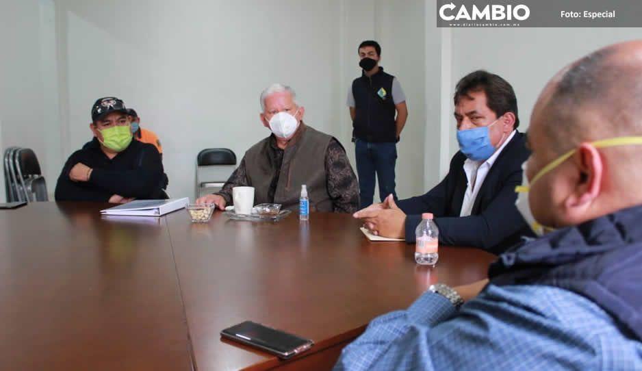 Crean Comisión de Contingencia Meteorológica y Atmosférica en Teziutlán para prevenir desastres