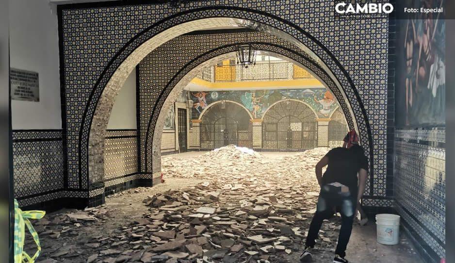 Restauran el palacio municipal de Atlixco y lo cierran al público