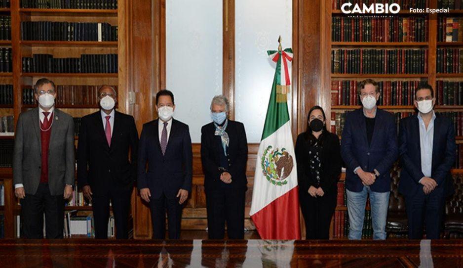 Nacho Mier se reúne con Sánchez Cordero para sacar adelante agenda de la 4T
