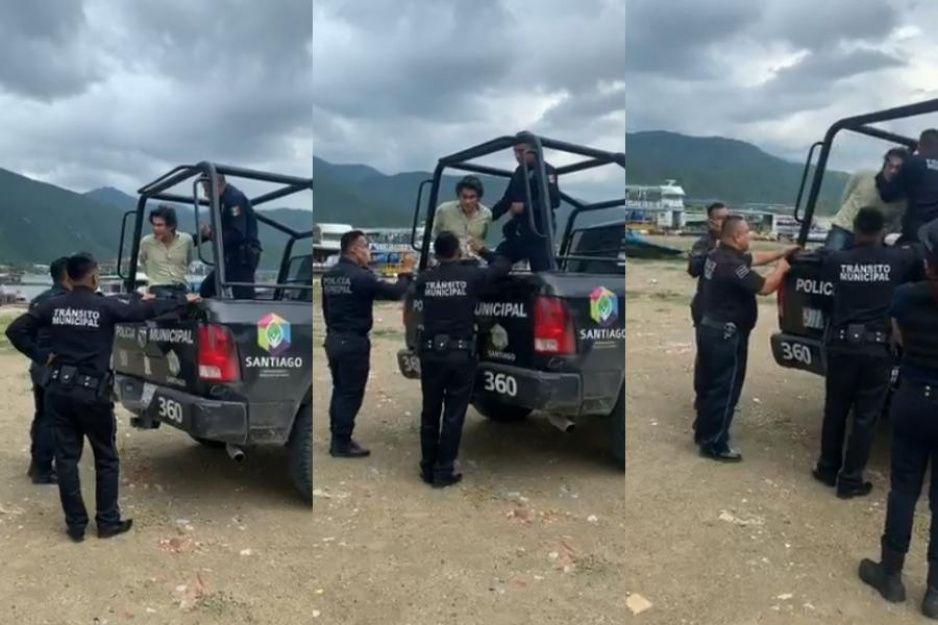 Arrestan al Pato Zambrano y se pone a llorar porque dice que no hizo nada (VIDEO)