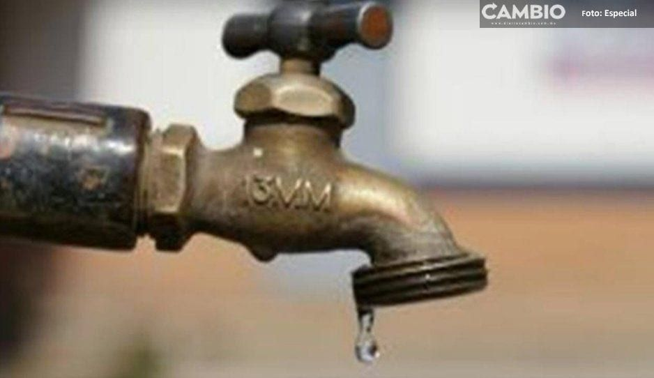 Ecoloco Vargas provoca escasez de agua en Huauchinango