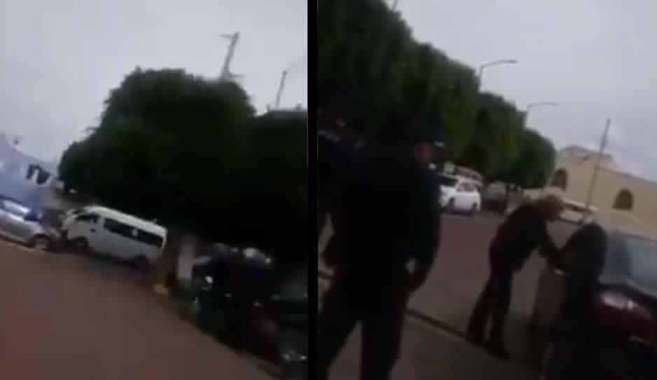 Síndico deja sesión para ir por su hermano que estaba insultando policías en Teotlalcingo
