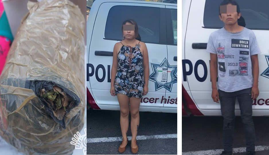 Caen narcomenudistas de El Japo en Tehuacán con dosis de cocaína, cristal y marihuana