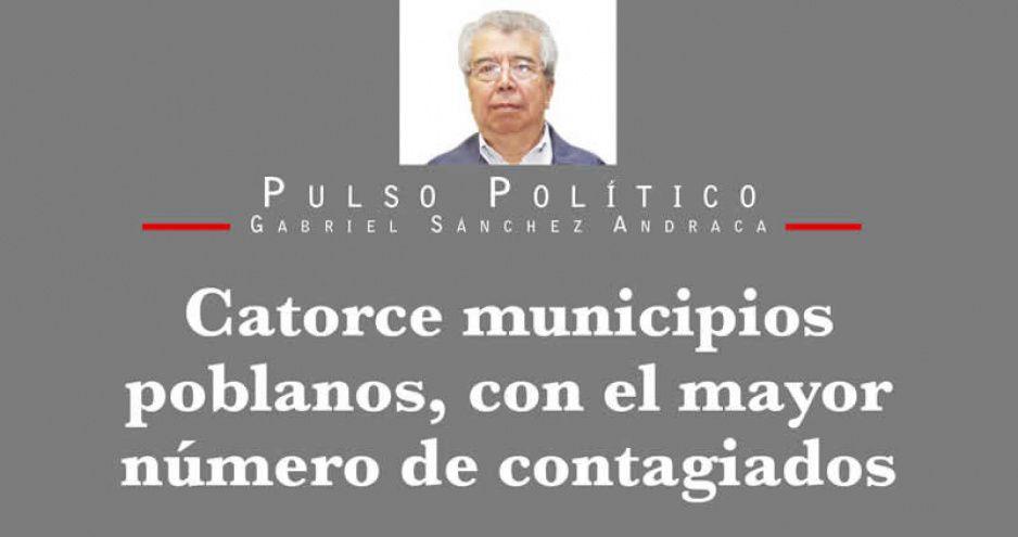 Catorce municipios poblanos, con el mayor número de contagiados