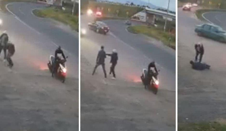 Maleantes asaltan a joven en El Verde