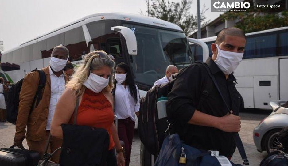 La unión hace la fuerza; 108 médicos cubanos llegan a Veracruz para luchar contra el Covid