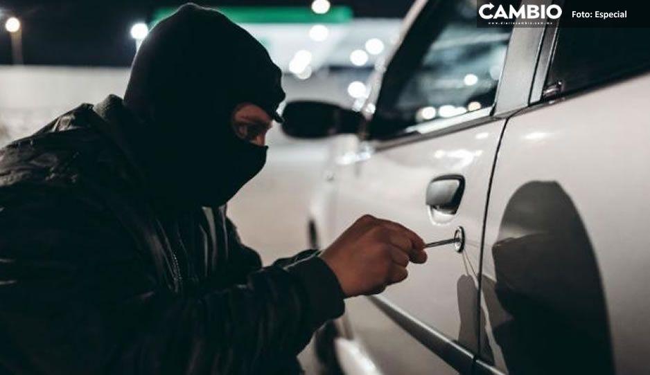 Estos son los autos más robados en los últimos 12 meses en México