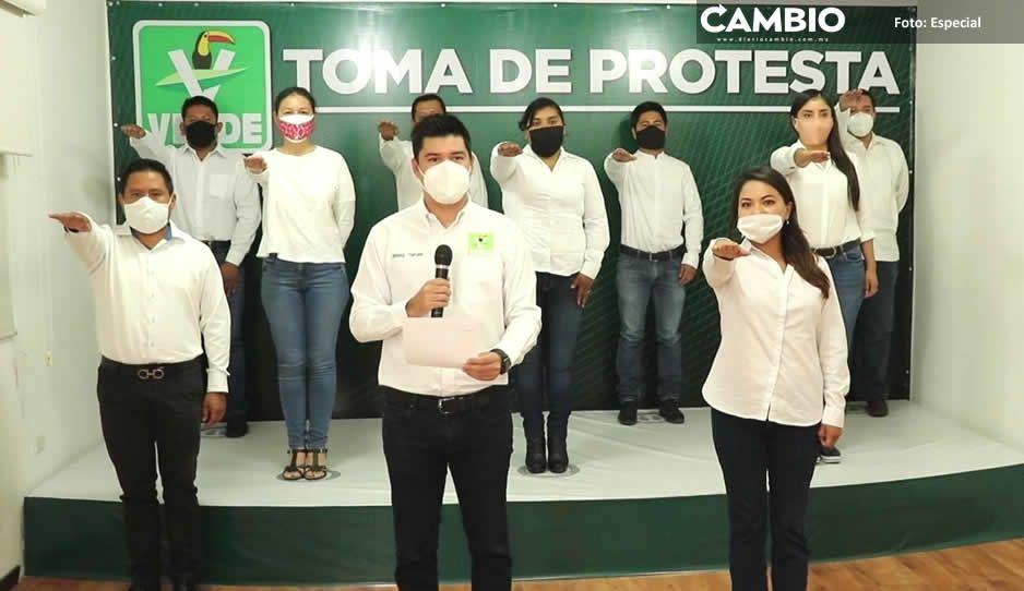 Karina Pérez se apodera del Verde en  San Andrés; su sobrina lidera partido