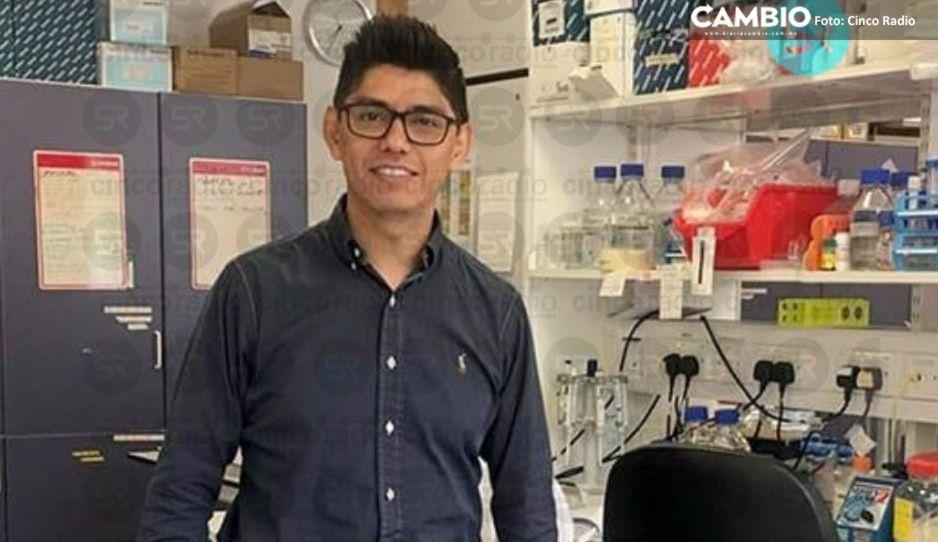 Orgullo poblano: egresado de la BUAP contribuye en la vacuna contra el Covid en Oxford