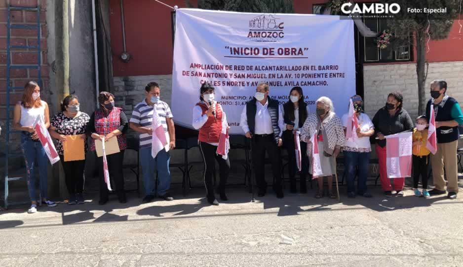 Inicia Mario de La Rosa Romero obras que conectarán al nuevo colector pluvial