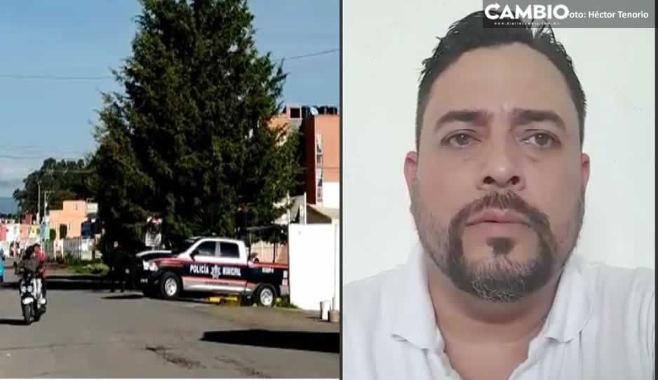 VIDEO: No es mi voz, dice comisario de San Martín tras supuesta extorsión