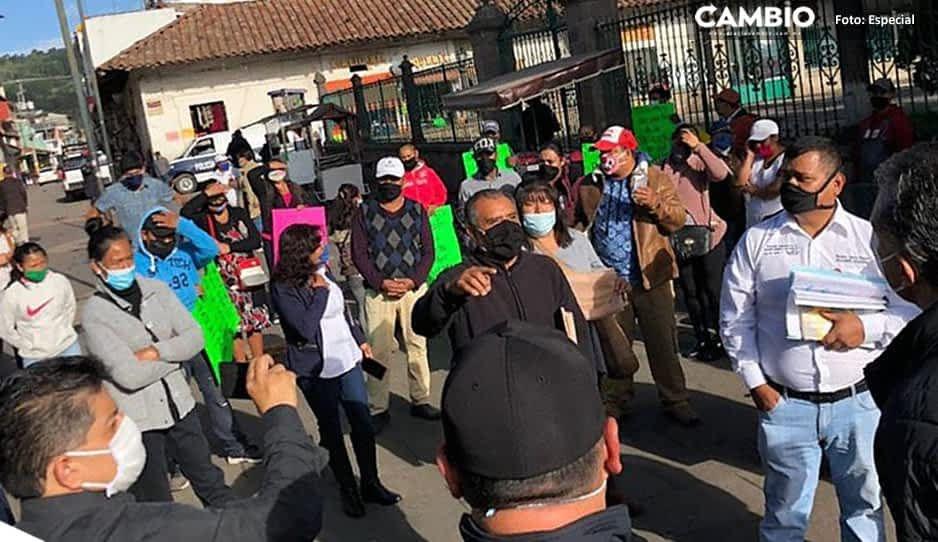 Retan al Covid: comerciantes de Zacatlán piden reinstalarse en el zócalo