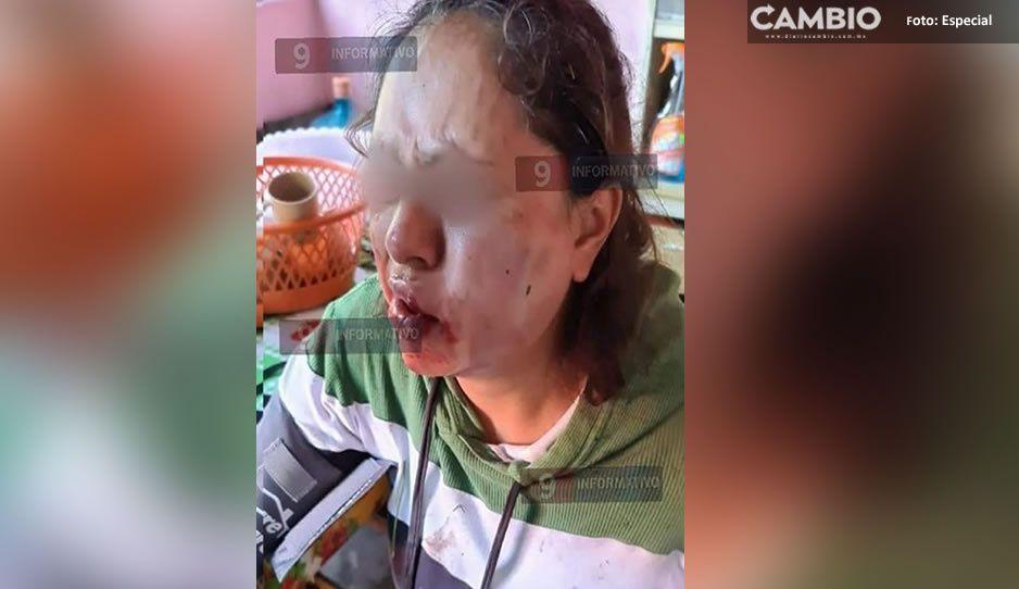 Pobladores de Hueytamalco protestan por ataque a Magaly durante asalto