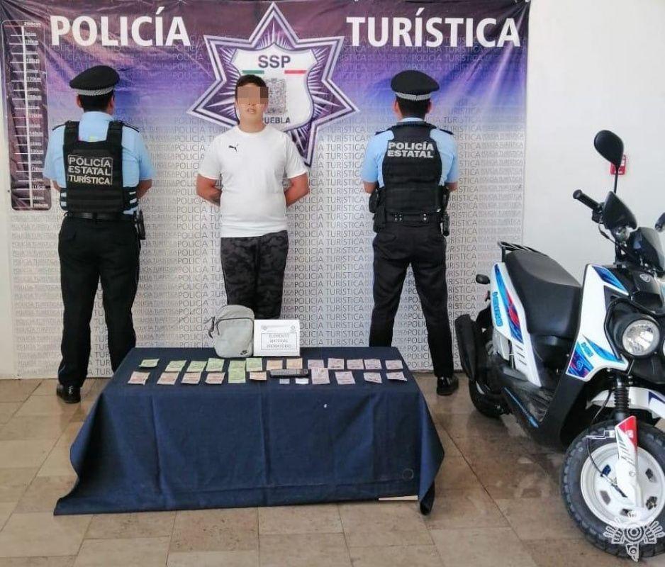 Cae narcomenudista del Centro Histórico, vendía cocaína y LSD