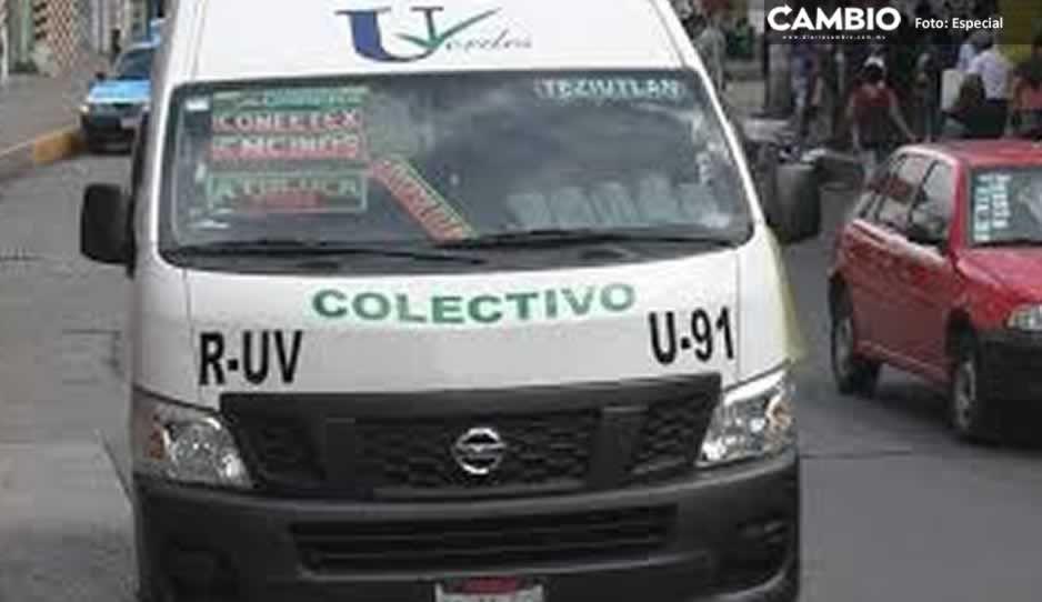 Gobierno de Teziutlán y transportistas acuerdan reforzar medidas contra el Covid 19