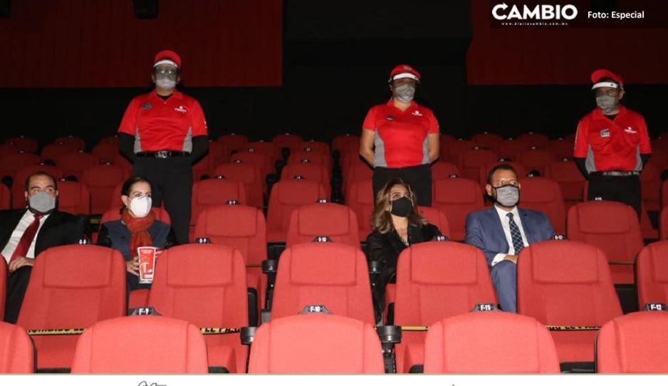 Cinemex llega a Amalucán, a cuidar la cartera asistentes