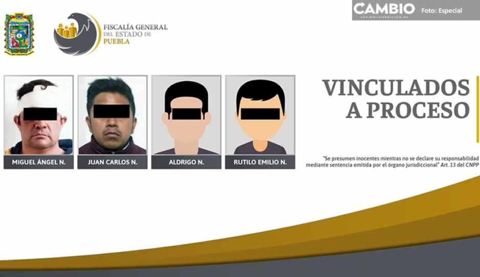 Vinculan a proceso a cuatro por violencia familiar en San Andrés, San Pedro, Coronango y Puebla capital