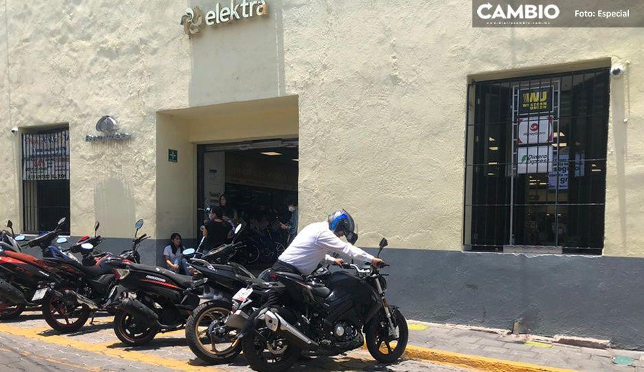 Tiendas Elektra siguen abiertas en Atlixco pese a que AMLO dijo que ya logró que cerraran