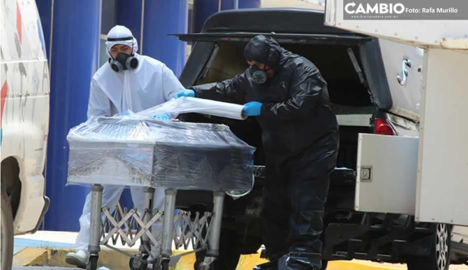 Puebla cierra la semana con 8 muertos 125 nuevos infectados del bicho