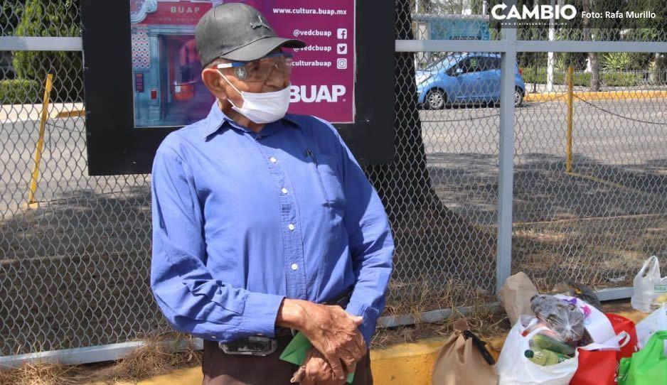 Esto es lo que sabemos de Don Lalo, el viejito que robó el corazón al quedarse sin trabajo por el coronavirus
