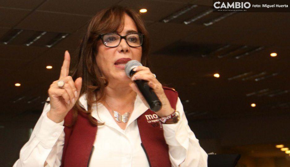 Morena tendrá que pagar la casa de 34 millones para que sea la sede en Puebla o serán sancionados: Yeidckol