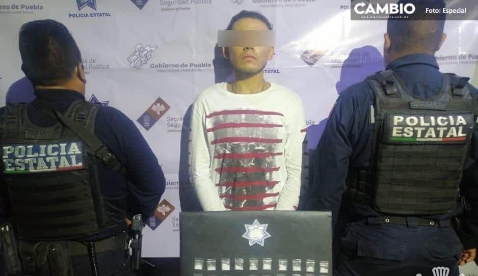 Cae El Juanísimo, narcomenudista de la banda Flash en Tepexi de Rodríguez