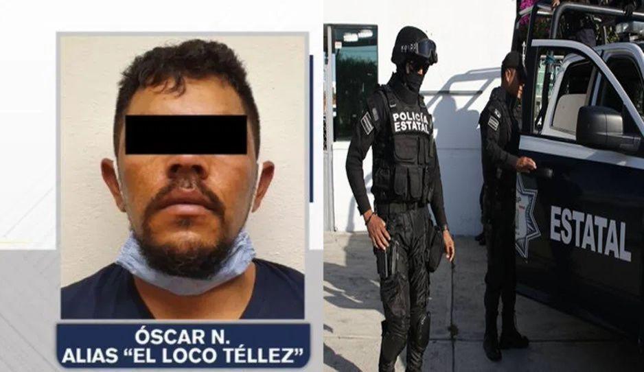 Prisión preventiva para El Loco Téllez por tentativa de homicidio contra dos estatales en Texmelucan