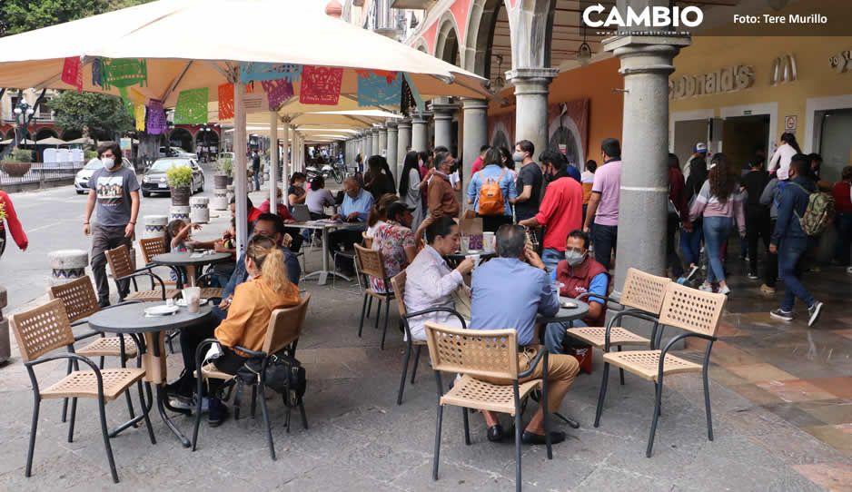 Van 5 quincenas consecutivas en que Puebla se mantiene dentro del semáforo amarillo