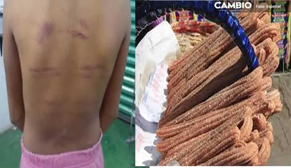 ¡Desalmada! Tía golpeaba  brutalmente a niña de 11 años con una varilla por no vender churros
