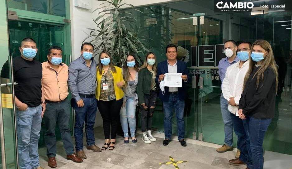 Carlos Barragán Amador inicia con el pie izquierdo candidatura por presidencia de Xicotepec