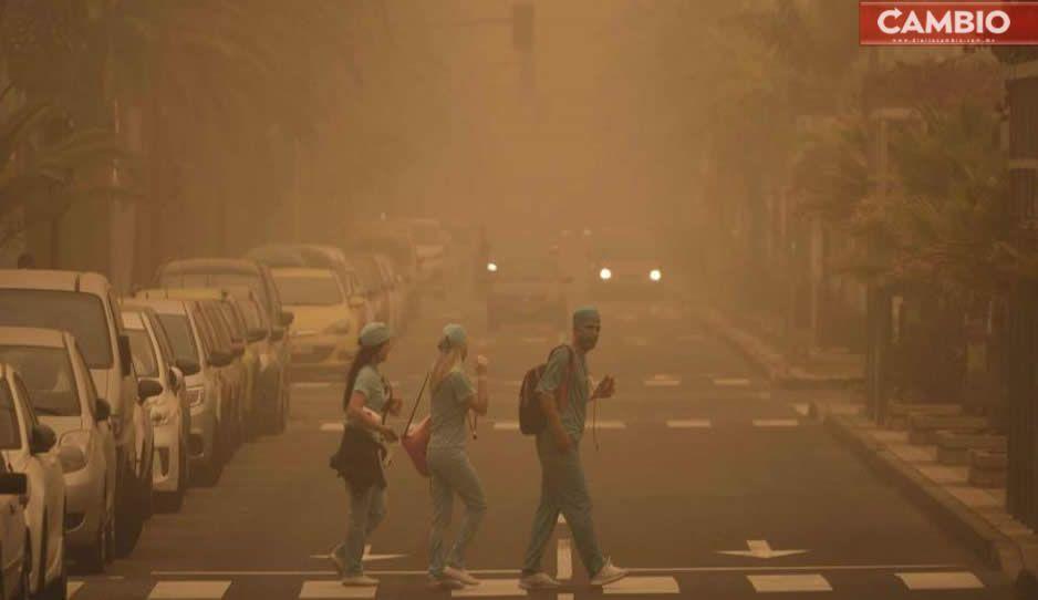 ¿Cómo puede afectar tu salud el polvo del Sahara?