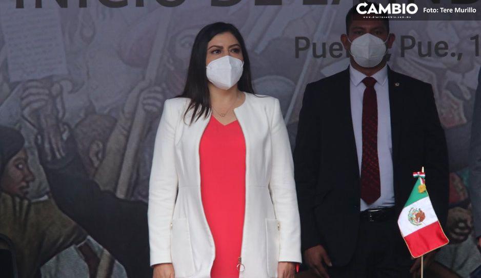 Claudia Rivera dio a conocer que su segundo informe será virtual (VIDEO)