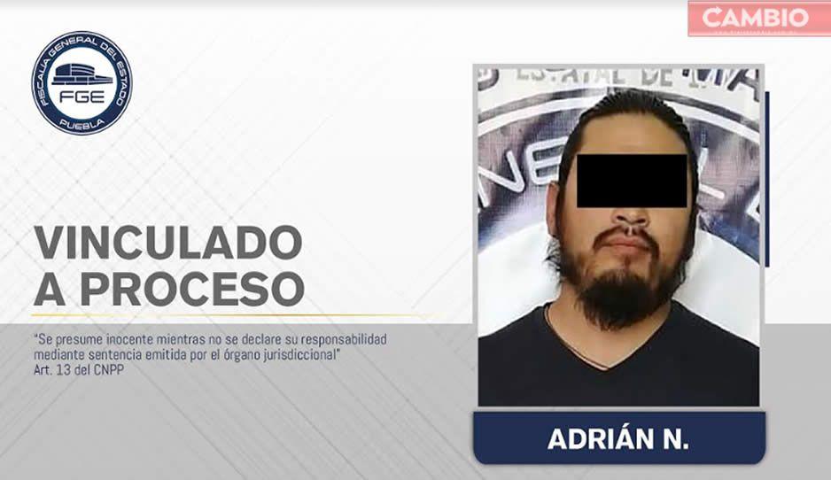 ¡Degenerado! Vinculan a proceso a Adrián N por violar a menor de 14 años en Texmelucan