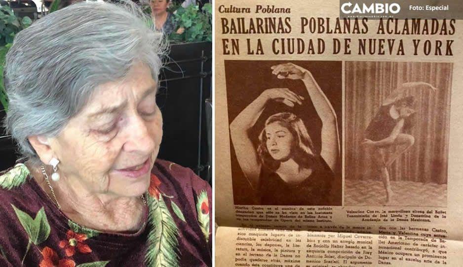 Muere Martha Valentina a los 86 años; fundadora de la escuela de ballet del CENHCH