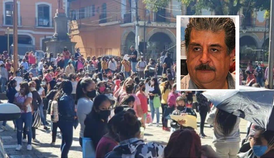 Ecoloco provoca contagiadero; convoca a homenaje de regidor fallecido