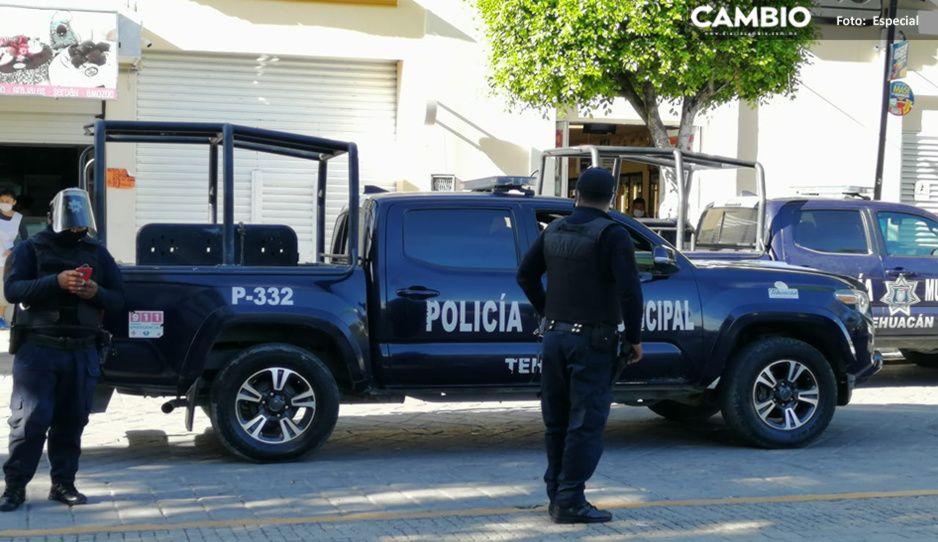 Amagan policías de Tehuacán con manifestarse si no les pagan aguinaldo el lunes