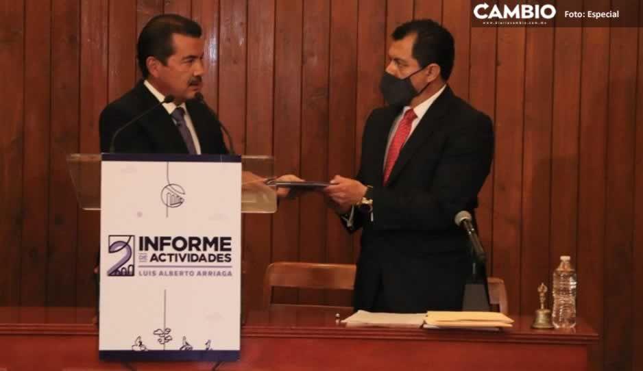 En San Pedro Cholula la transformación está en marcha, destaca Luis Alberto Arriaga en su Segundo Informe de Gobierno