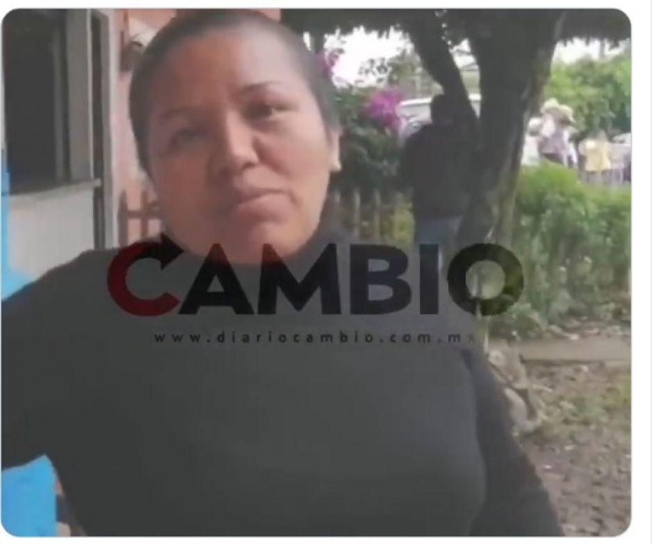 Habitantes de Xicotepec molestos por dispositivo de seguridad de AMLO (VIDEO)