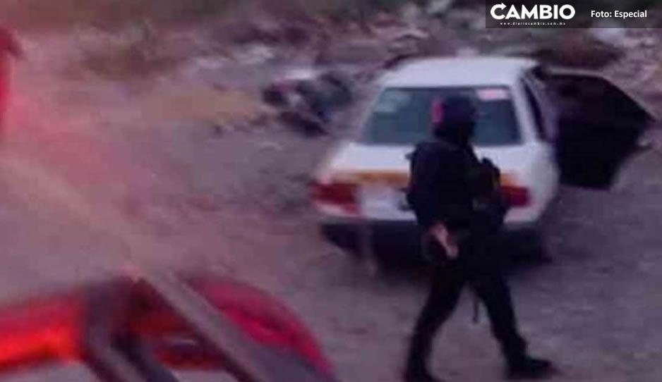 Comando rafaguea a familia en Tamaulipas; hay dos muertos (VIDEO)