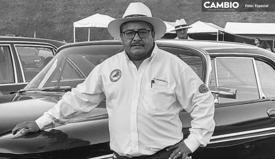 Muere por COVID Rey Rodríguez, presidente de asociación de empresarios en Atlixco