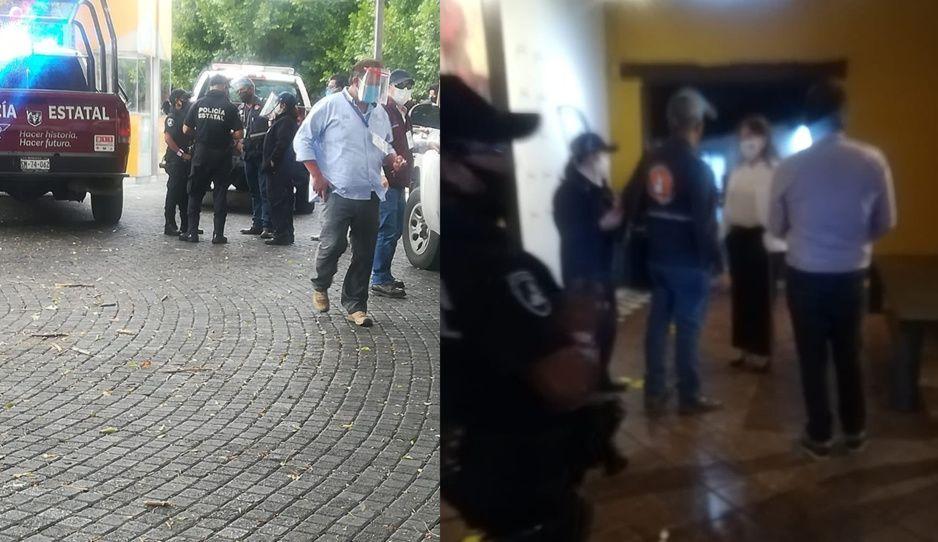 Ni la presidenta de la CANIRAC se salvó, inspeccionan su restaurante ante reaperturas (VIDEO)