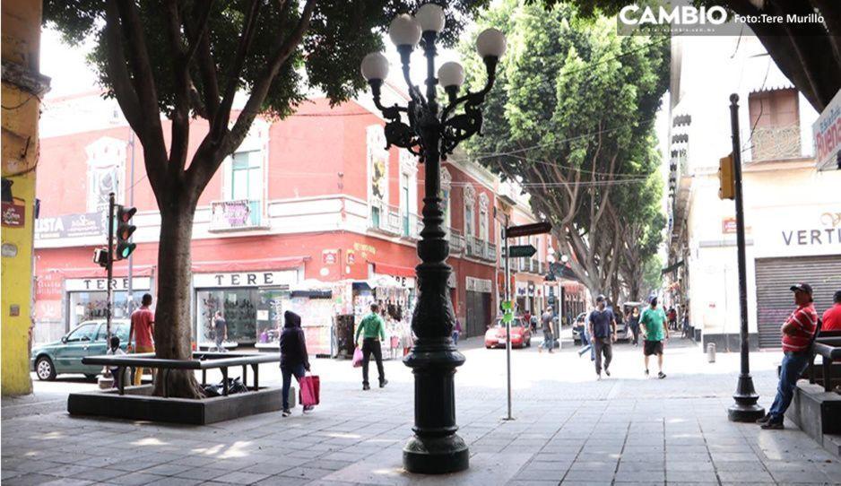 ¡Cuidado! Poblanos con COVID salen a la calle sin medidas sanitarias