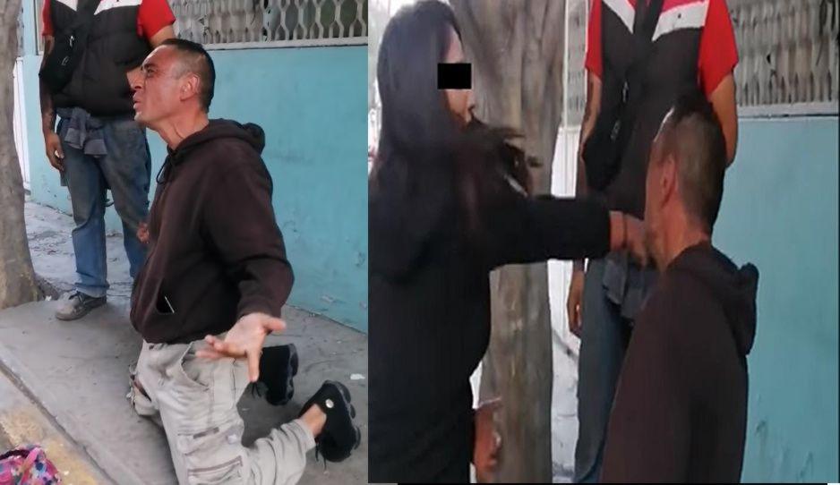 Rata se mete a robar a Ecaterror y mujer lo frena a cachetadas (VIDEO)