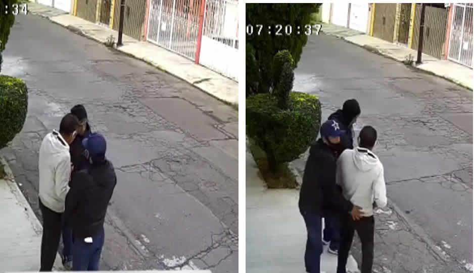 VIDEO: ¡Par de cobardes! Asaltan a joven en San José Mayorazgo