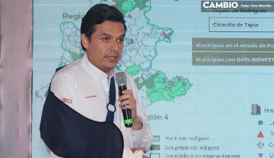 Puebla cuenta con siete hospitales rurales para pacientes covid