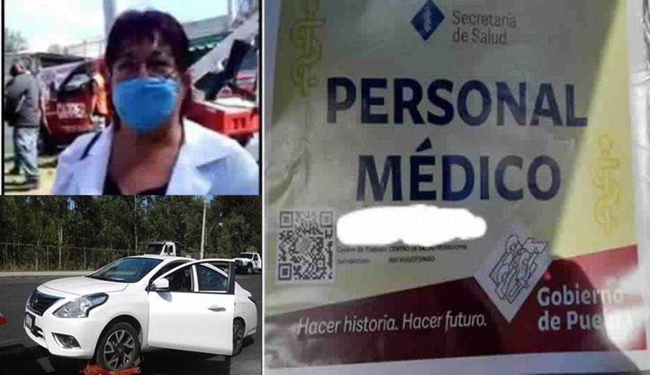Doctora abusiva utilizó permiso fake para evadir el Hoy No Circula en Zavaleta
