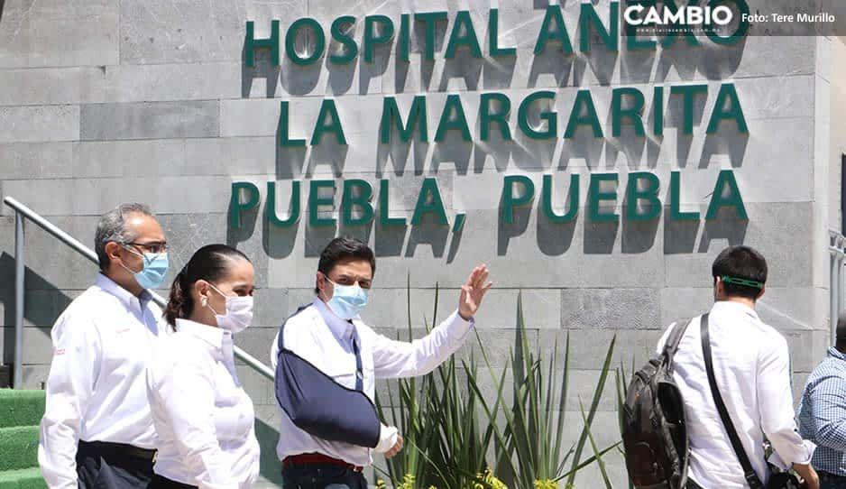 Zoé Robledo no inauguró la Unidad Médica Temporal porque no está terminada: Barbosa