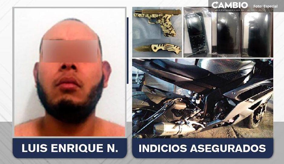 Armado hasta los dientes, detienen a sicario que ejecutó a dueño de lotes de autos en La Paz