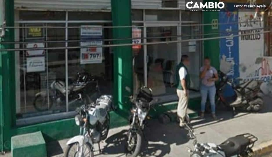 Matan a trabajador de Banco Azteca  durante asalto en Atencingo, Chietla